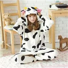 Kigurumi Adult Animal Onesies - Cow - Shipping Cap Promotion- - TopBuy.com.au