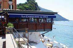 La Camogliese restaurant, Camogli, Italy