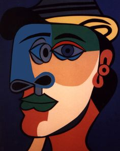 "Pablo Picasso Cubism | Pablo Picasso (Cubism Period) | Canson paper | 11"" x 14"" 