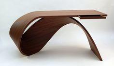 Table work table design Style made simple Bureau Waimea Design Furniture, Chair Design, Wood Furniture, Furniture Ideas, Futuristic Furniture, Modern Table, Wood Design, Contemporary Furniture, Website