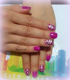 Maria's glam nails <3 <3
