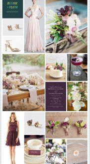 REVEL: Blush   Plum and lilac are my wedding colors!