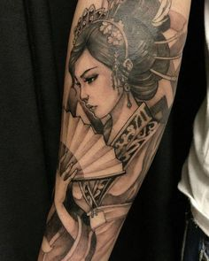 Resistencia Cultural Y Tatuajes De Geishas Para Hombres Geisha