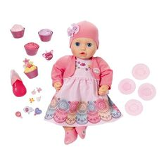 Baby Annabell My Special Day Annabell nukke New Party Dress, Party Dress Outfits, Cute Baby Cats, Cute Babies, Toys Uk, Party Plates, Lol Dolls, Baby Born, Outfits With Hats