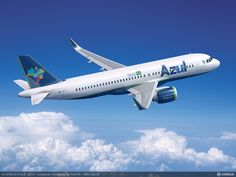 Azul is acquiring a total of 63 Airbus A320neo aircraft. 35 direct purchase and 28 on lease (20 from Aercap and 8 from GECAS). And they've selected CFM engines.