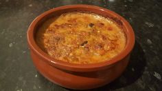 Albanian Tave Dheu is one of Albania's national dishes and is also know as Fergese me melçi (with Liver).
