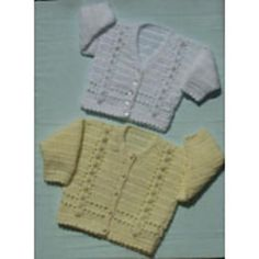 Ravelry: Baby Cardigan Patt No.74 pattern by Kay Jones