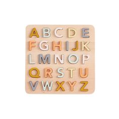 ABC puzzle Kid's Concept - Yellow Flamingo