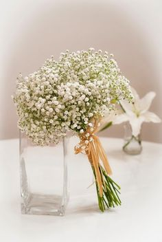 La sencillez y elegancia de la Paniculata. Una boda con la paniculata como protagonista #boda #paniculata #ramosdenovia