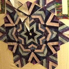 Kaleidoscope, from Ricky Tims' book. Border is from the EQ library ... : ricky tims quilt patterns - Adamdwight.com