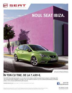 Noul SEAT Ibiza - In ton cu tine.