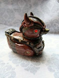 Steampunk devil duck -- Cassie Clare fans take note. ;)