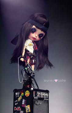 Britt Blythe custom art ooak doll & por JevrieslovesJodie en Etsy