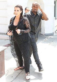 [PHOTOS] Kim Kardashian Pregnancy Weight Gain — Blames God For Getting Fat   Radar Online
