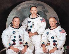 Apollo 11 - Armstrong, Collins & Aldrin