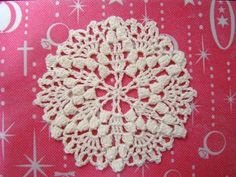 Doily 1 - free charted pattern by chi-sa-ko