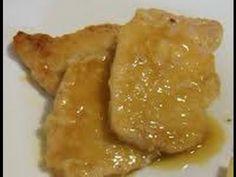 Scaloppine all'arancia (ricetta con la lonza) - YouTube
