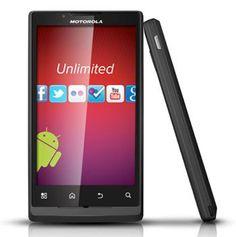 Motorola Triumph Prepaid Android Phone (Virgin Mobile)  $219.99