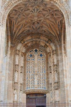 Entrance of Saint Cecil Cathedral, Albi France