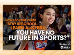 Bunheads- Cheerleader Sasha is my new favorite.