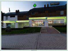 Diseño Fachada frontal Farmacia Rosario, Madrid