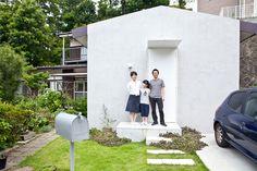 選んだのは築約50年のどっしりとした一軒家 神奈川県鎌倉市。古都と呼ばれるこの街の小さな山の裾野に、大坪さん一家が暮らす家がある。大坪正佳さん、文恵さん