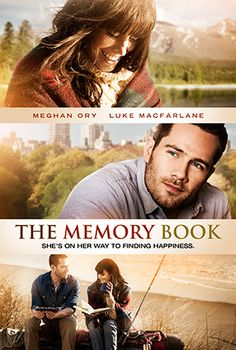 The Memory Book, 2014, Megan Ory, Luke Macfarlane.  Love.