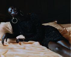 Adut Akech and Rianne Van Rompaey for M Le magazine du Monde, September Photographed by Harley Weir. Harley Weir, Art Partner, Daniel Wellington, Editorial Fashion, Vogue, Magazine, Concert, September 8, Fashion Editorials