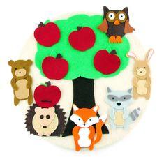 Flannel Board Fun: Hedgehog and Friends
