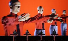 July 19, 2013: German electronic band Kraftwerk performs with a 3-D stage set during the 47th Montreux Jazz Festival in Montreux, Switzerland, on July 17.