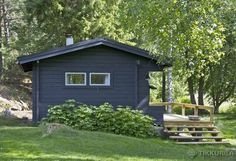 612x Baltic Sea, House Colors, Bungalow, Tiny House, Shed, Cottage, Exterior, Outdoor Structures, Cabin