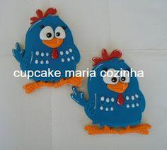 cupcake maria cozinha: Galinha Pintadinha