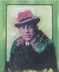 Portret Louis Couperus door Peter Donkersloot (ca. 1991)
