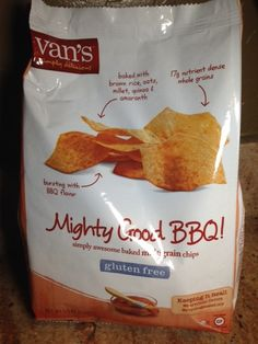 Gluten Free Product Review - Van's Mighty Good BBQ Multi Grain Chip