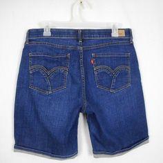 Ann Taylor LOFT Patch Pocket Denim Shorts in White with 3 Inch Inseam NWT White