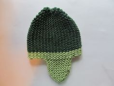 Garter Stitch Ear-Flap Pattern                      Supplies needed:  loom, knitting hook, yarn of your choice, and yarn needle.   I us...