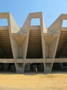 n-architektur: Ahmedabad_Cricket Stadium_Correa by carlo.fumarola
