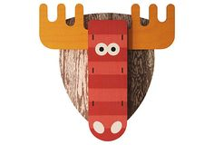 Snoutrageous 3D Wall Art on OneKingsLane.com  Bullwinkle! I think this would be great over a family room fireplace if I lived in WI or MN