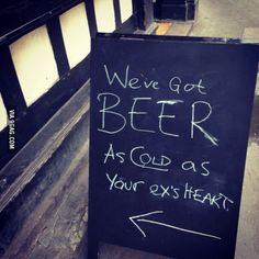 Real cold beer