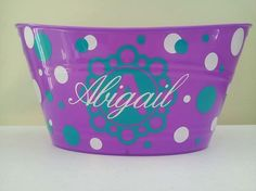 Personalized Easter  Basket Sand Bucket Toy by ThatGlassStore