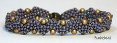 Jagged Little Pearl  A Beadweaving Tutorial by BumblebeadCrafts