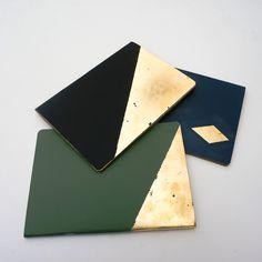 tutoriel carnet de note feuilles d'or pretacreer