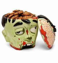 Smacznie! Pojemnik na ciastka Zombie Head