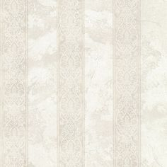 "Chesapeake Stripes Presque Isle Regal 33' x 20.5"" Damask 3D Embossed Wallpaper"