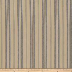 This beautiful linen blend fabric has a rustic appearance and feel. Perfect for draperies, valences, toss pillows, and light upholstery projects.