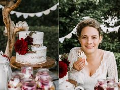 Weddingcake nakedcake Cupcakes wedding Wedding Cupcakes, Sugar, Crown, Jewelry, Fashion, Moda, Corona, Jewlery, Bijoux