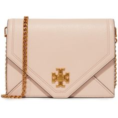 Tory Burch Kira Cross Body Bag (7.145 ARS) ❤ liked on Polyvore featuring bags, handbags, shoulder bags, purses, bolsas, light oak, purse crossbody, man leather shoulder bag, tory burch handbags and leather shoulder bag
