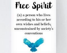 Unlocking Your Inner Free Spirit White Room Decor, Comics Love, Bohemian Print, Gypsy Soul, Typography Prints, Free Spirit, Inspirational Quotes, Wisdom