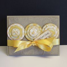 Circle card by Windy Robinson. Such a versatile design!