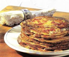 The origin of these thin Hungarian pancakes (palacsinta), which are extremely popular in Hungary, is not entirely clear.